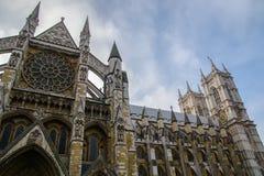 Westminster abbotskloster vid natt Royaltyfri Foto