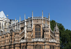 Westminster Abby Details Royalty Free Stock Images