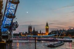 Westminster Ben London grande Reino Unido Foto de archivo