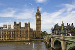 Westminster and Big Ben Royalty Free Stock Images