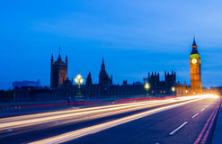 Westminster. Big Ben & westminster, London uk Stock Photography
