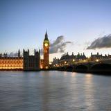 Westminster Biridge and Big Ben Stock Photos