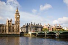 Westminster-Brücke Lizenzfreie Stockfotos
