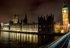 Westminster-Brücke Lizenzfreies Stockbild