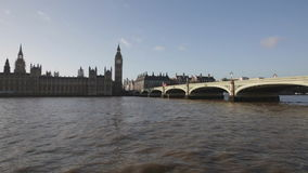 Westminster Bridge stock video footage
