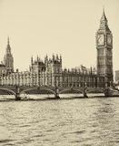 Westminster Bridge. By the Houses of Parliament Stock Photography
