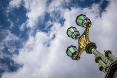 Westminster Bridge lamp Royalty Free Stock Photos