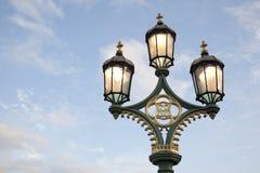 Westminster Bridge Lamppost Stock Photo