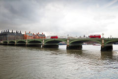 Westminster Bridge in London Royalty Free Stock Photography