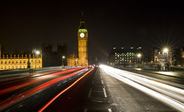 Westminster Bridge, London, England Royalty Free Stock Photos