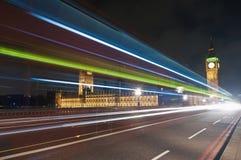 Westminster Bridge at London, England Stock Photography