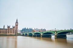 Westminster Bridge at London, England Stock Photos