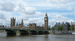 Westminster bridge in London UK Stock Photos