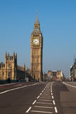 Westminster bridge in London, United Kingdom. Stock Image
