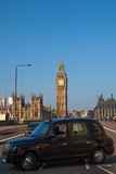 Westminster bridge in London, United Kingdom. Stock Photo