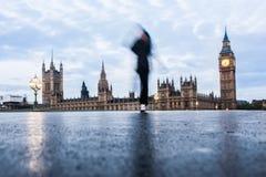 Westminster Bridge in London Royalty Free Stock Image