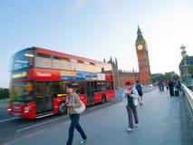Westminster Bridge, Lonon Stock Photography