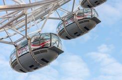 London Eye, millennium wheel in London in the morning Royalty Free Stock Photos