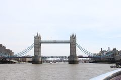 Westminster bridge on the times river in London stock photos