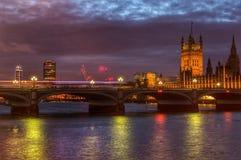 Westminster bro Fotografering för Bildbyråer