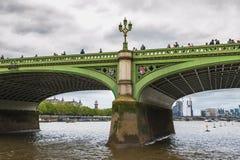 Westminster bro Royaltyfria Bilder