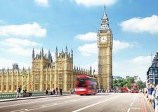 Westminster bro, London Arkivfoto
