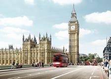 Westminster bro, London Royaltyfria Foton