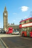 Westminster broväg Arkivbild