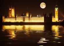 Westminster - casas del parlamento Fotografía de archivo libre de regalías