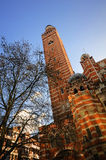 Westminster Cathedral. The Roman Catholic Westminster Cathedral very beautiful and peace, It's in Victoria, London Royalty Free Stock Image