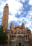 Westminster Cathedral. The Roman Catholic Westminster Cathedral in Victoria, London Stock Photos