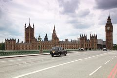 Westminster Cathedral and Big Ben Stock Image