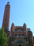 Westminster Cathedral in London, Royalty Free Stock Images