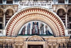 Westminster Cathedral Stock Photo