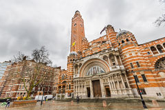 Westminster cathedral - London. United Kingdom royalty free stock images