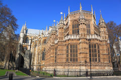 Westminster Church Abbey. At London, UK Royalty Free Stock Photos