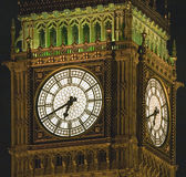 Westminster Clock Stock Image