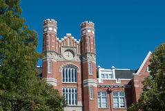 Westminster College. Main Building in Westminster College, UT with English influenced architecture Stock Photography