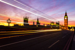 Westminster and Color Stock Image