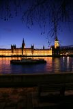 Westminster at dusk Royalty Free Stock Photography