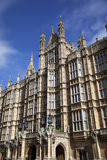 Westminster, Häuser des Parlaments in London Lizenzfreies Stockfoto