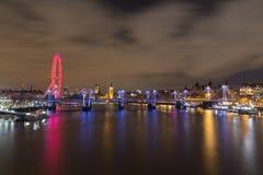 Westminster horisont Royaltyfria Foton