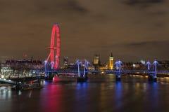 Westminster horisont Arkivbilder