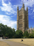 Westminster - The Houses of Parliament in London Stock Image