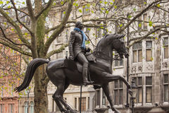 Westminster - King George III Equestrian Statue Stock Image