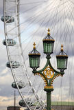 Westminster Lamp-post Royalty Free Stock Images