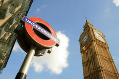 Westminster Londres Images libres de droits