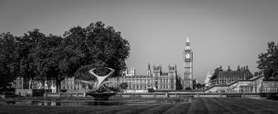 Westminster Londres ben grande Imagenes de archivo