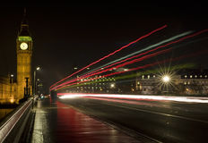 Westminster at NIght Too Stock Photography
