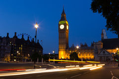 Westminster at Night Stock Images